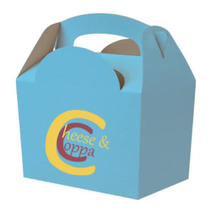 Blue Meal Box